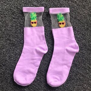 Accessories - Pineapple Sock **NEW**